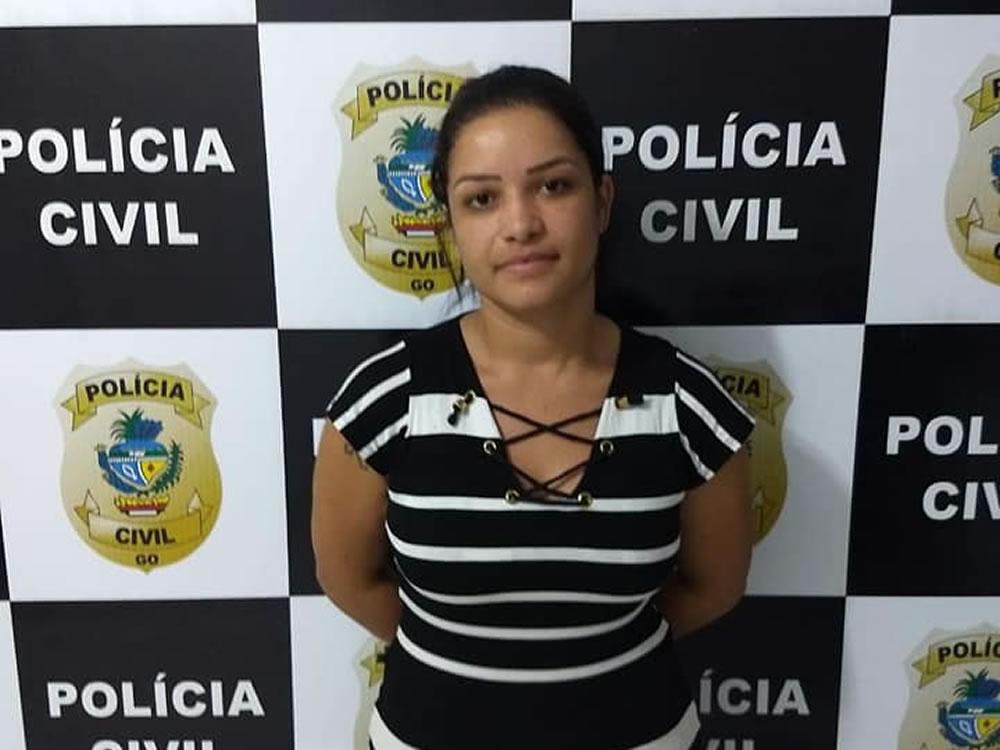 Imagem de Acusada de tráfico presa em Edealina