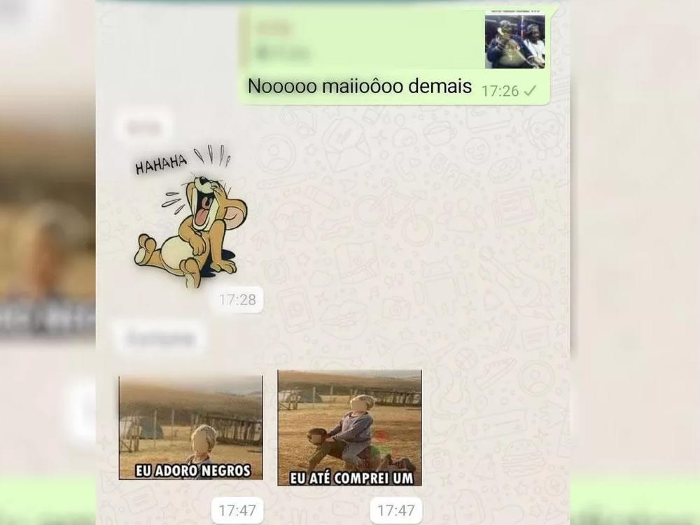 Imagem de Homem é preso após fazer piada racista em grupo de WhatsApp no interior de Goiás