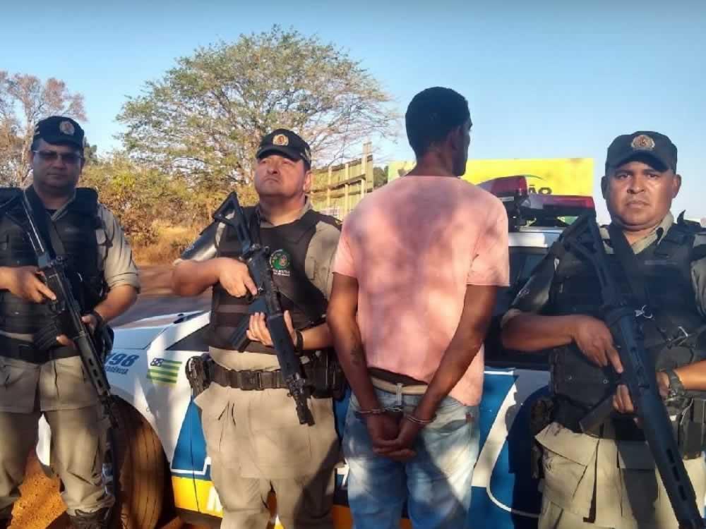 Imagem de Foragido do Mato Grosso do Sul preso em Rio Verde