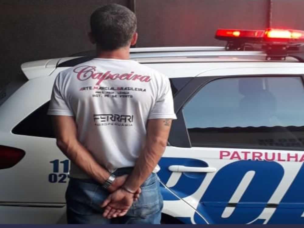 Imagem de Homem agride ex-mulher no Jardim América e é preso em Rio Verde