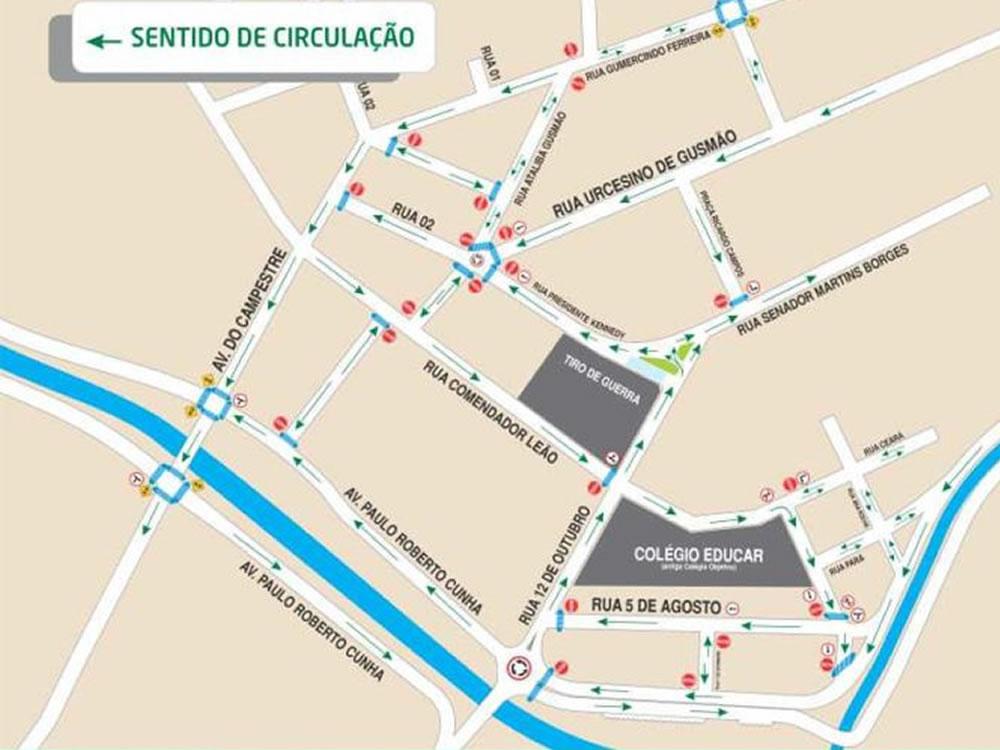 Imagem de Trânsito no centro de Rio Verde passará por mais grandes mudanças