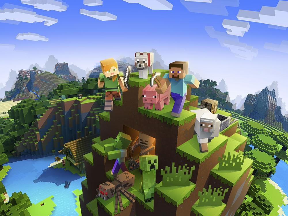 Imagem de Minecraft chega a marca de 112 milhões de usuários por mês