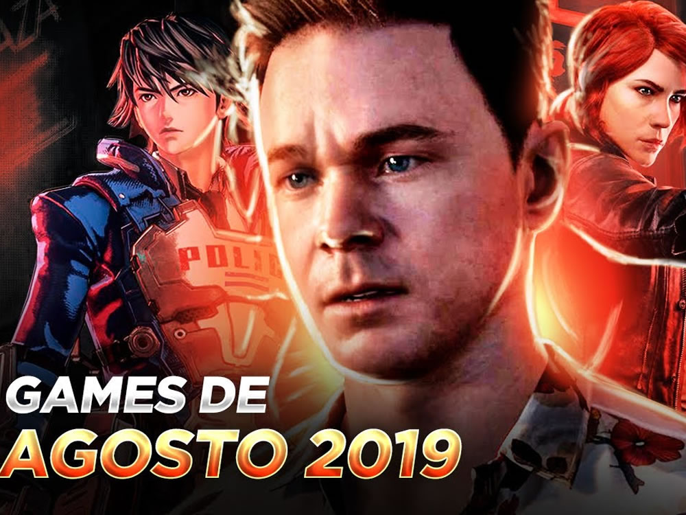 Imagem de Confira os principais lançamentos de games em agosto