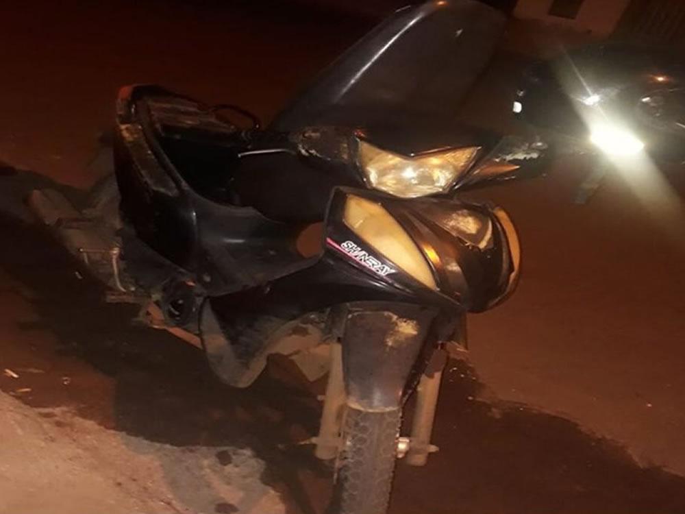 Imagem de PM recupera moto no Jardim América