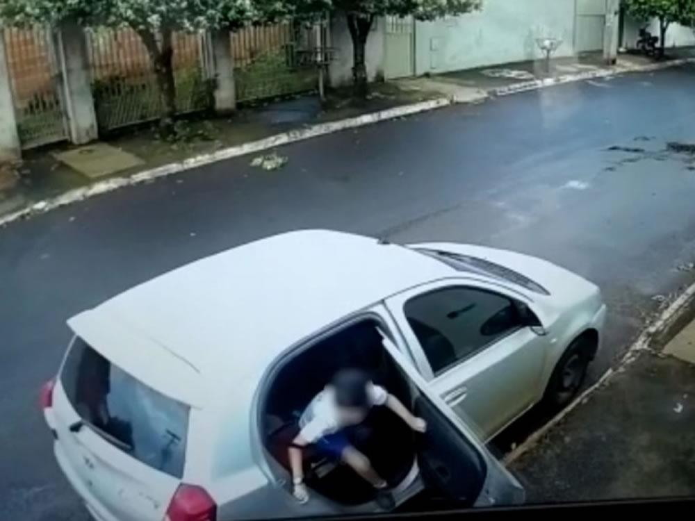 Imagem de Suspeitos de cerca de 20 roubos de carros são presos em Rio Verde