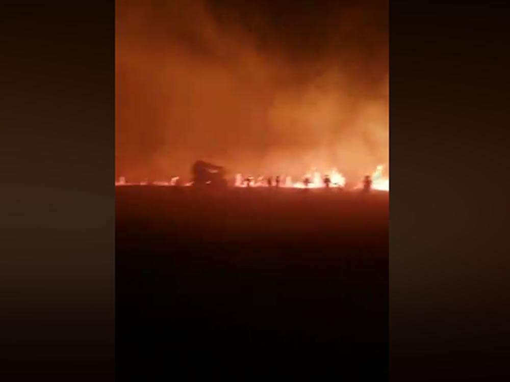 Imagem de Helicóptero cai no interior de Goiás