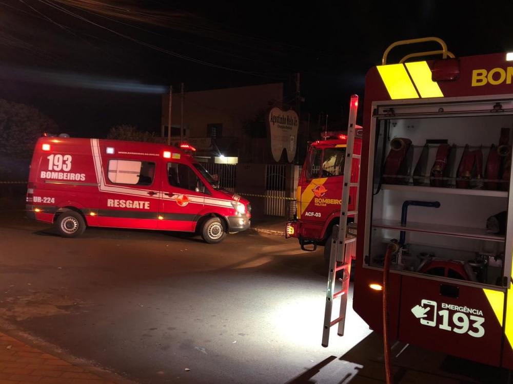 Imagem de Incêndio destrói loja de móveis em Rio Verde; prejuízo é de R$ 32 mil