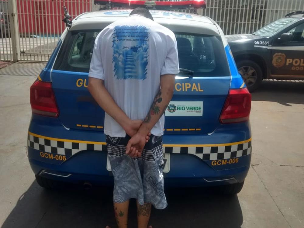 Imagem de GCM prende homem com telefone furtado em Rio Verde
