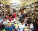 Imagem de Biblioteca municipal de portas abertas