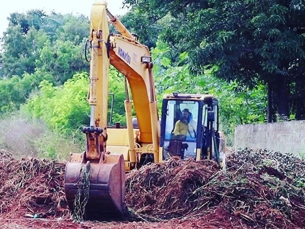 Imagem de Retomada obra de canalização e urbanização do Córrego do Sapo
