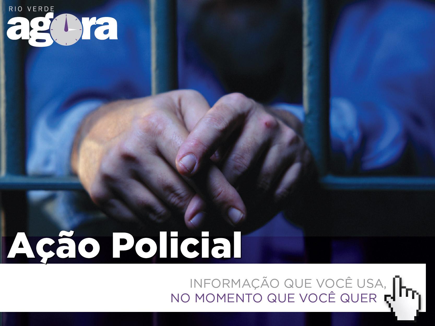 Imagem de CPE de Rio Verde recaptura foragido da justiça