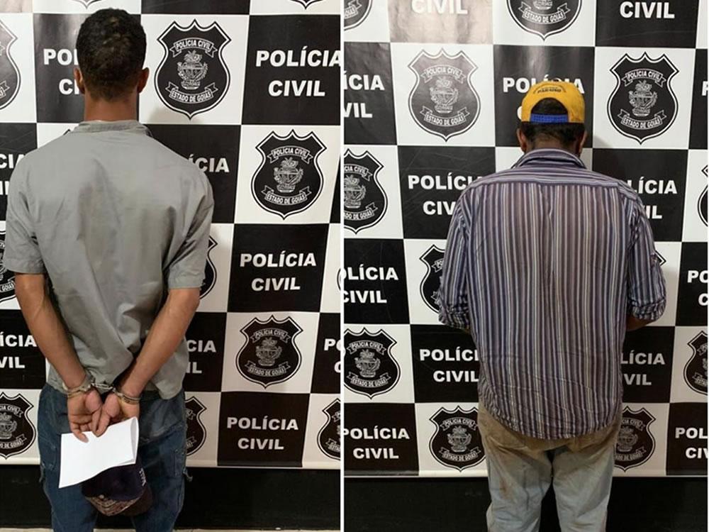 Imagem de Dupla presa em Acreúna por roubo