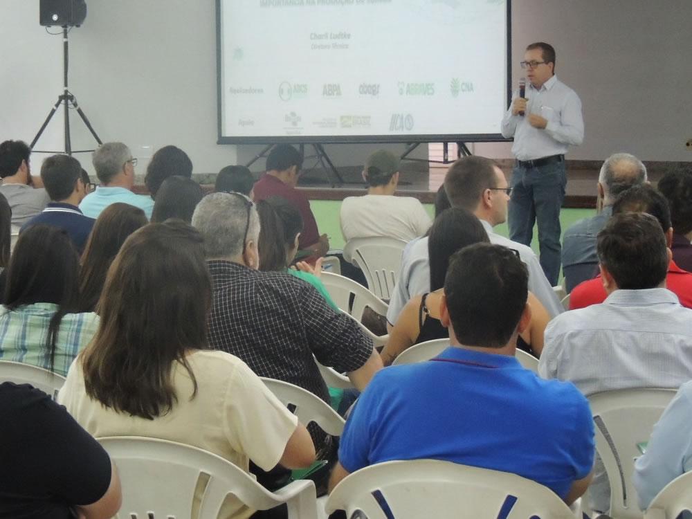 Imagem de Palestra no Sindicato Rural de Rio Verde abordou doenças de suínos