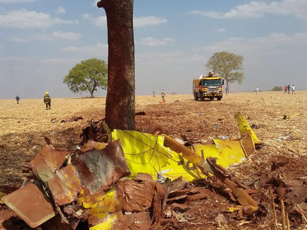 Imagem de Iniciadas investigações de acidente aéreo em Rio Verde