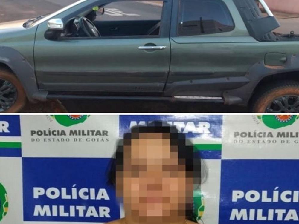 Imagem de PM recupera veículo roubado no Valdeci Pires