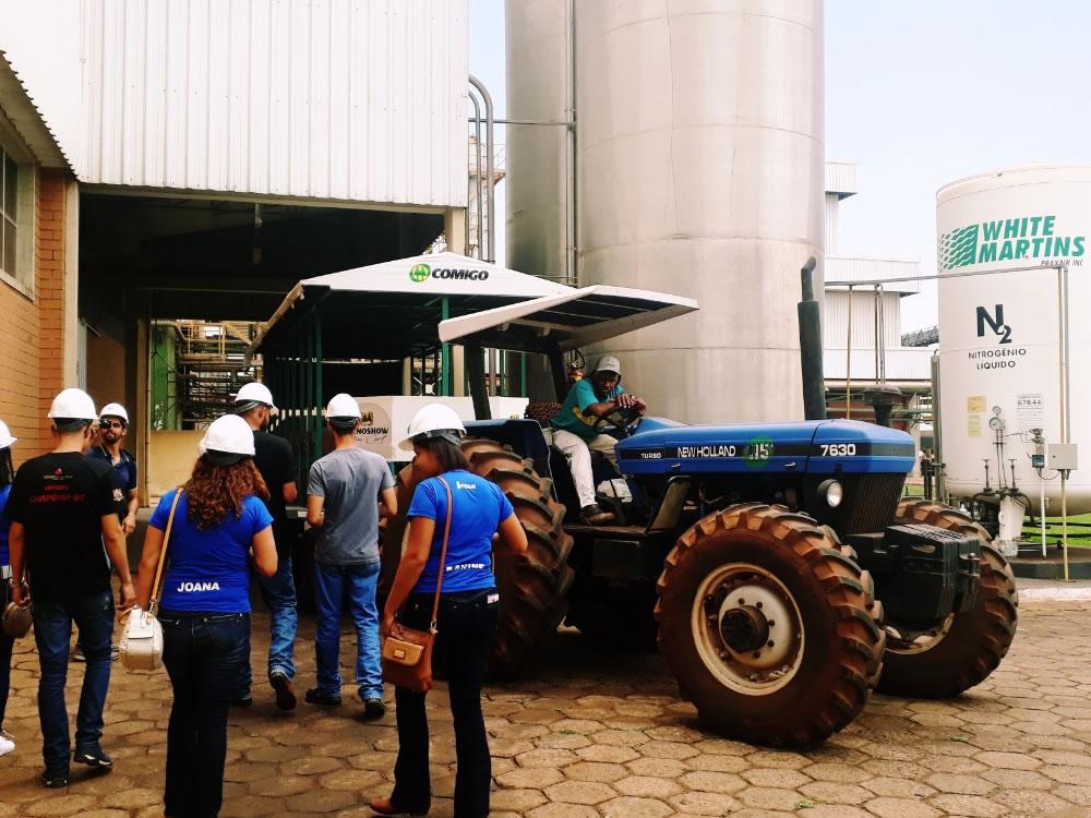 Imagem de Alunos do ITEGO de Caiapônia visitam Comigo de Rio Verde