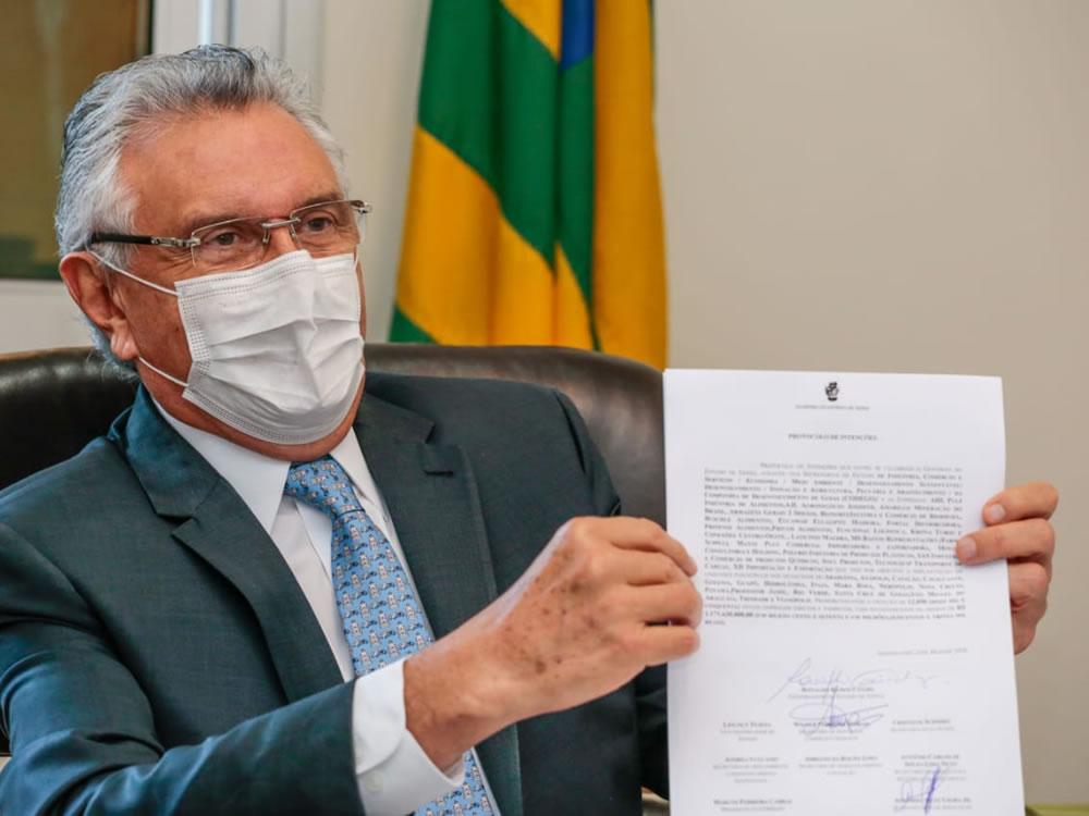 Imagem de Caiado anuncia vinda de nova empresa para Rio Verde