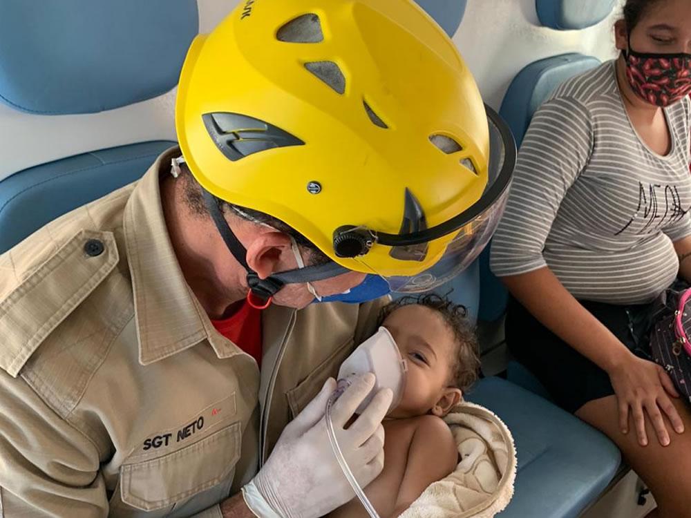 Imagem de Criança se afoga em banheira e é salva por bombeiros em Rio Verde