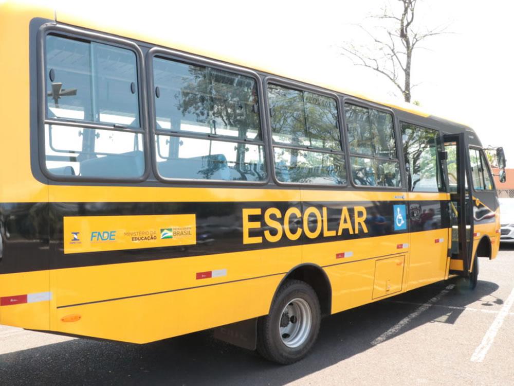 Imagem de Educação de Rio Verde ganha mais um ônibus escolar