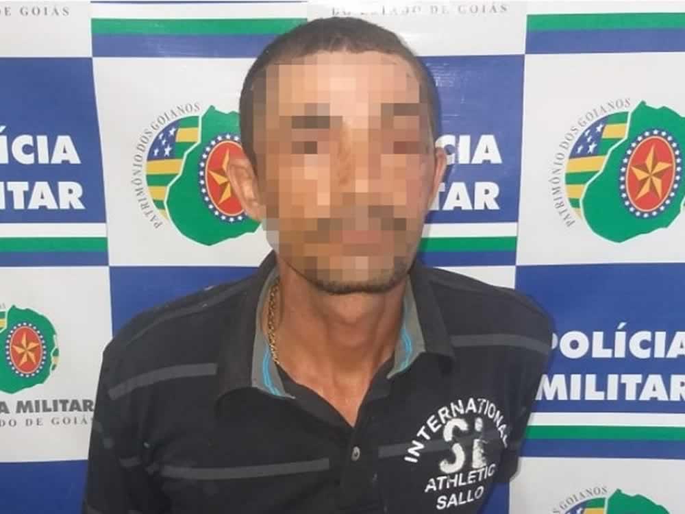 Imagem de Foragido preso no Bairro Dona Lindolfina, em Rio Verde