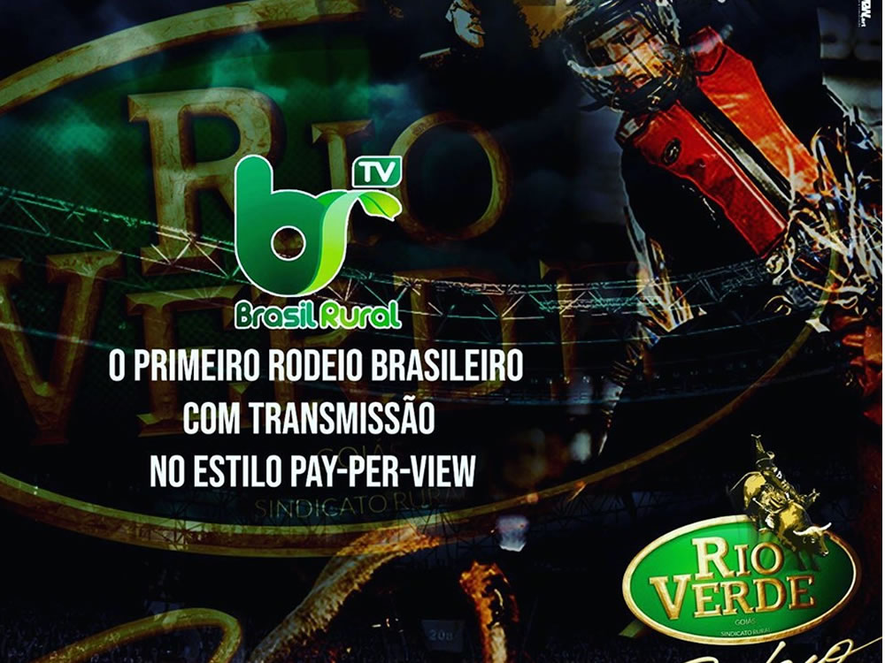 Imagem de Rodeio de Rio Verde será transmitido por pay per view