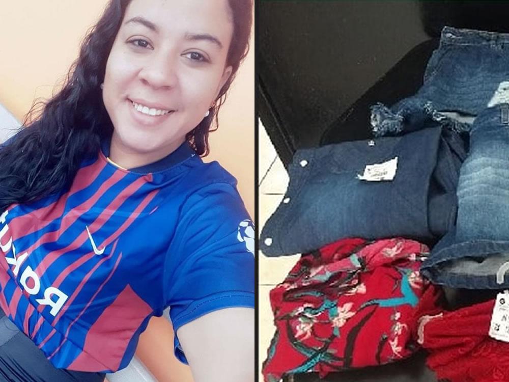 Imagem de Mulher é presa após furtar loja de roupas em Jataí