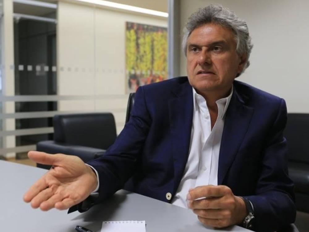 Imagem de Caiado discute endurecimento de restrições em Goiás durante reunião com prefeitos