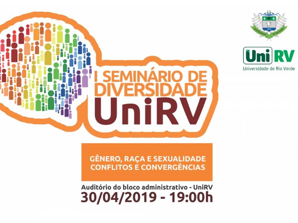 Imagem de UniRV promoverá I Seminário de Diversidade e Inclusão