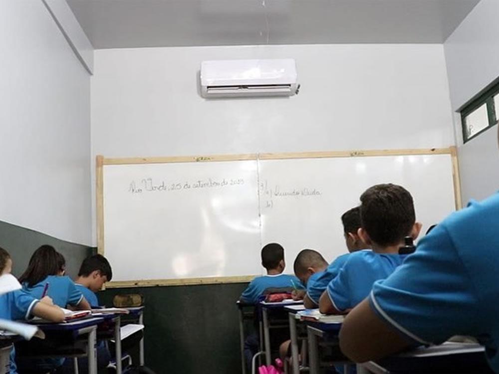 Imagem de Prefeitura atinge 100% de climatização das Escolas Municipais