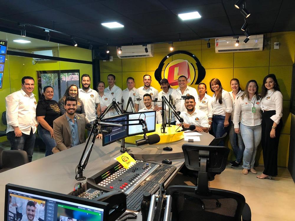 Imagem de Rádio Líder Rio Verde comemora 10 anos e inaugura novo estúdio