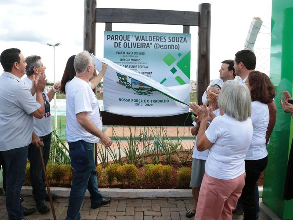 Imagem de Prefeitura inaugurou parque no Residencial Interlagos