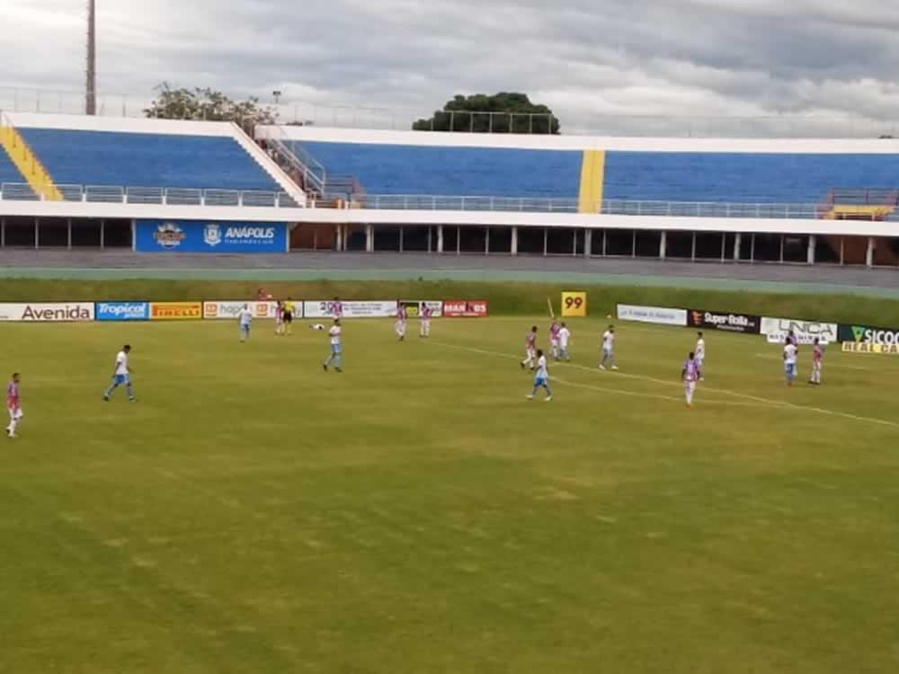 Imagem de Grêmio Anápolis e Itumbiara empatam sem gols no Jonas Duarte