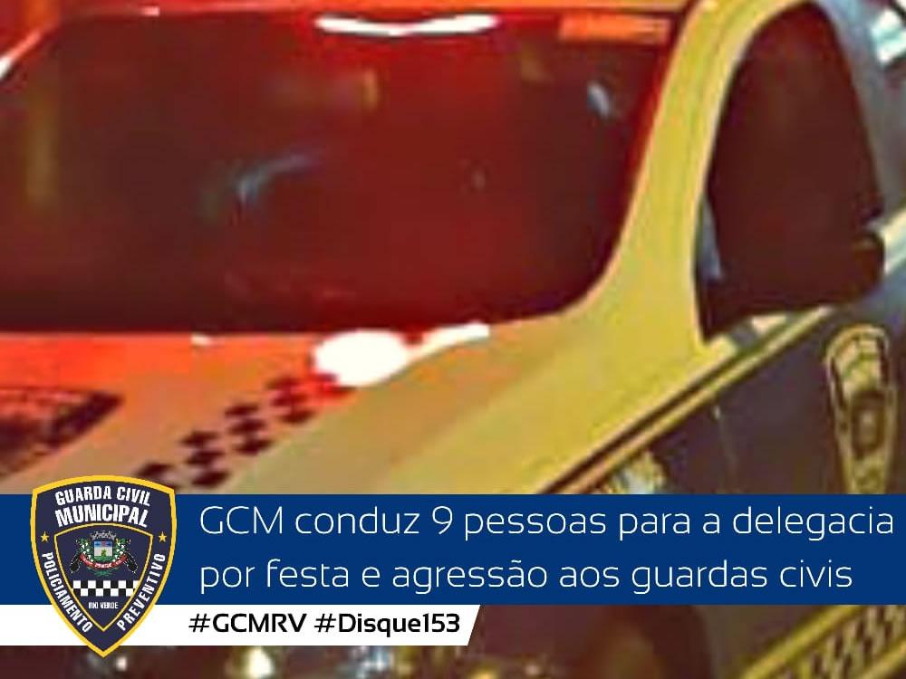 Imagem de Nove pessoas são presas em festa clandestina em Rio Verde