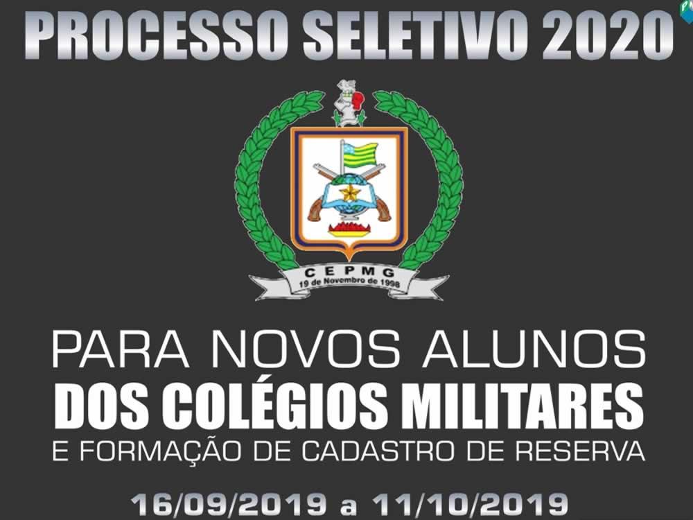 Imagem de Vão ser abertas as inscrições para o processo seletivo do Colégio Militar de Rio Verde
