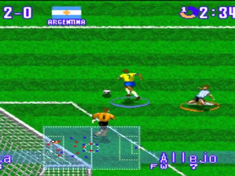 Imagem de Allejo, ícone de International Superstar Soccer, era inspirado em Bebeto