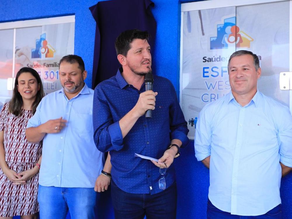 Imagem de 'Só Glaustin se lembrou de Montividiu em 2019', destaca prefeito