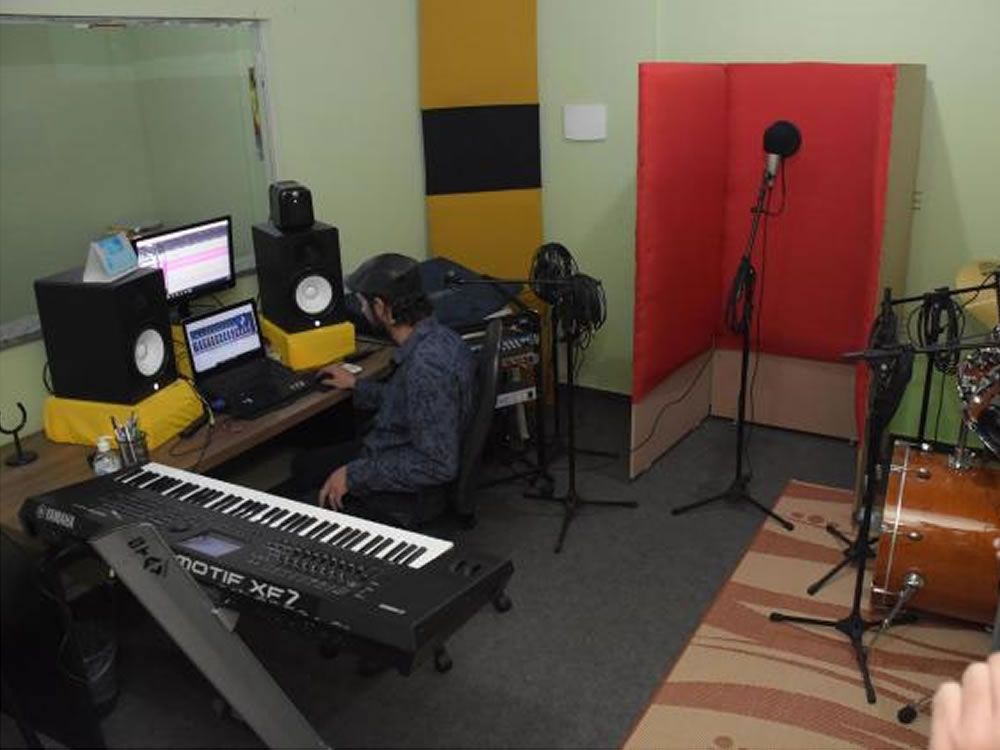 Imagem de Artistas de Rio Verde poderão gravar projeto no estúdio municipal