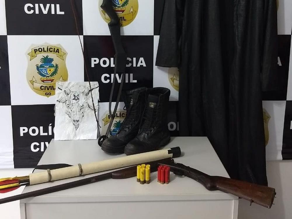 Imagem de Adolescente planejava massacre em escola estadual de Goiás