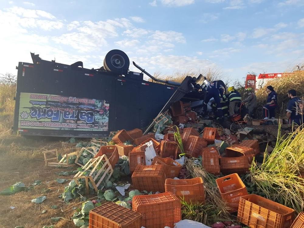 Imagem de Homem morre em grave acidente na BR-060, em Rio Verde