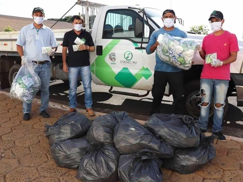 Imagem de Sindicato Rural de Rio Verde faz doação de máscaras para a Prefeitura