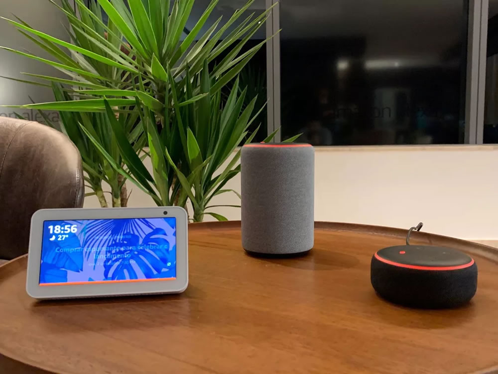 Imagem de Alexa, assistente de voz da Amazon, chega ao Brasil