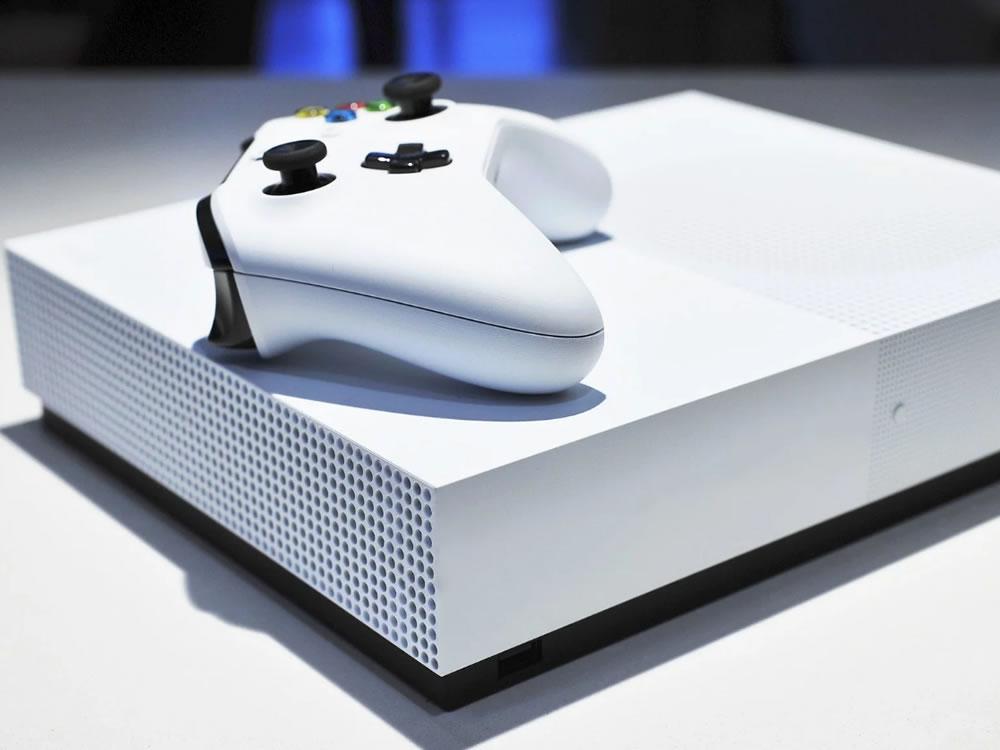 Imagem de Sem leitor de disco, Xbox One S All-digital Edition é revelado