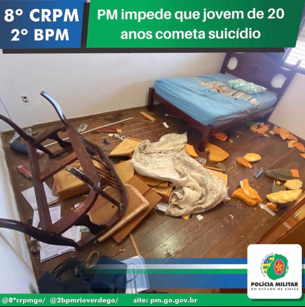 Imagem de 2° BPM EVITA QUE JOVEM DE 20 ANOS COMETA SUICÍDIO