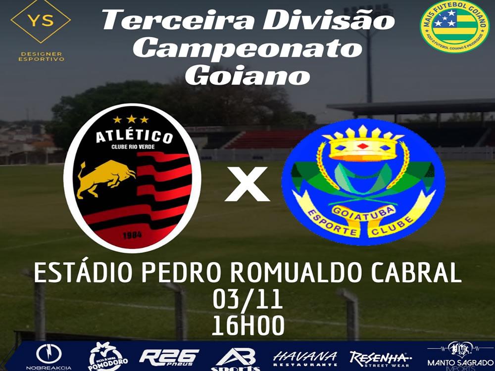 Imagem de Atlético Clube Rio Verde X Goiatuba será realizado em Santa Helena