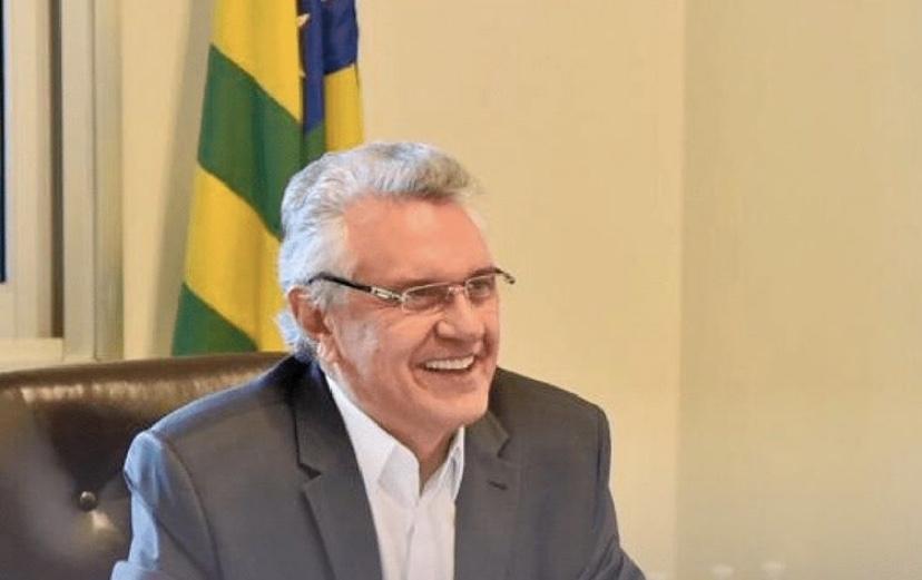 Imagem de GOVERNADOR REINAUGURA ESCOLA E VISITA OBRAS EM RIO VERDE