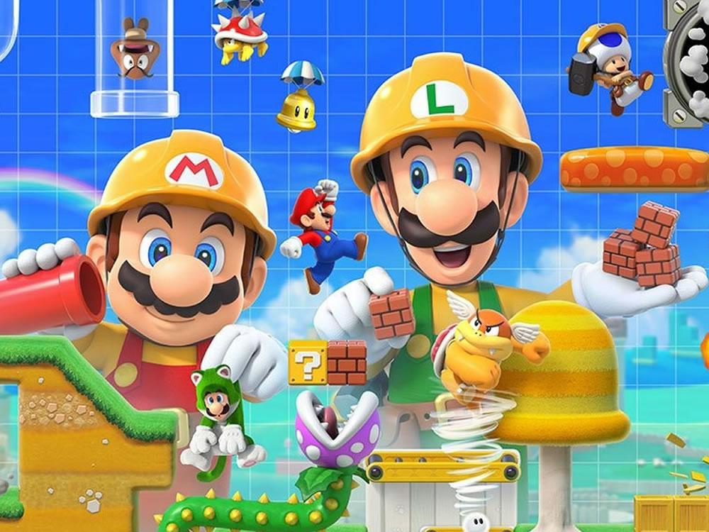 Imagem de Super Mario Maker 2 terá mundo de Super Mario 3d World e competição online
