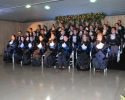 Imagem de Emoção na colação de grau de alunos da Fesurv